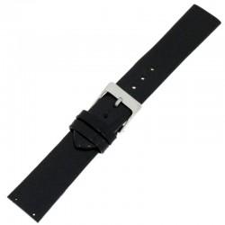 Laikrodžio dirželis BISSET BS25C22 juodas