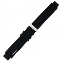 Laikrodžio dirželis BISSET BSAD11 juodas
