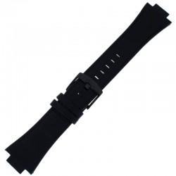 Laikrodžio dirželis BISSET BSCD24 juodas