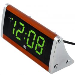 Электронные часы - будильник XONIX 1812/GREEN