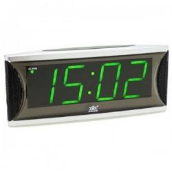 Электронные часы - будильник XONIX 1810/GREEN