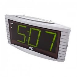 Электронные часы - будильник XONIX 1809/GREEN