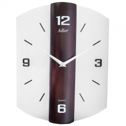 ADLER 21171W Sieninis kvarcinis laikrodis