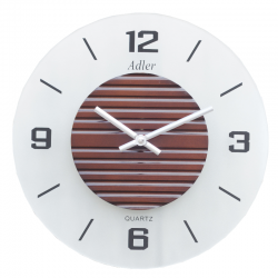 ADLER 21120W Sieninis kvarcinis laikrodis