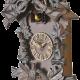 ADLER 24016W RIEŠUTAS.GEGUTĖ Sieninis kvarcinis laikrodis