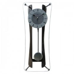 ADLER 20118W  riešutas Sieninis kvarcinis laikrodis