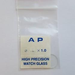 Laikrodžio stikliukas. Mineralinis. 1 mm storio
