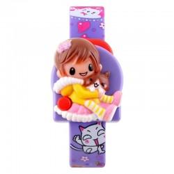 SKMEI DG1240 Purple   Vaikiškas laikrodis