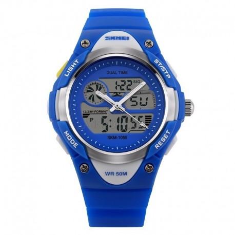 SKMEI AD1055 Blue Vaikiškas laikrodis