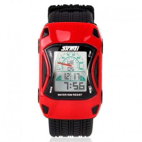 SKMEI 0961B Kids Red Vaikiškas laikrodis