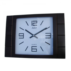 ADLER 21129W WALNUT. Quartz Wall Clock
