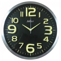 ADLER 30146BL Quartz Wall Clock