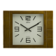 ADLER 21129O OAK. Quartz Wall Clock