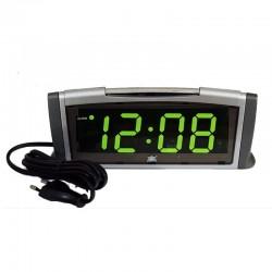 Электронные часы - будильник XONIX 1811/GREEN