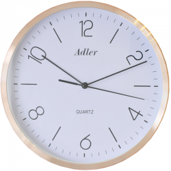 ADLER 30135COP Настенные кварцевые часы