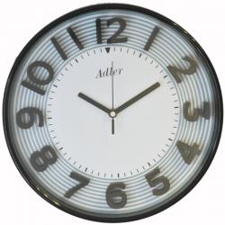 ADLER 30151BLACK Haстенные кварцевые  часы