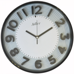 ADLER 30151BLACK Quartz Wall Clock