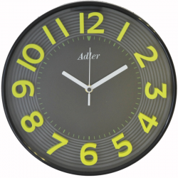 ADLER 30151GREEN Quartz Wall Clock
