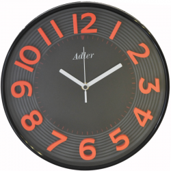 ADLER 30151RED Quartz Wall Clock