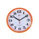 ADLER 30019 ORANGE Настенные кварцевые часы
