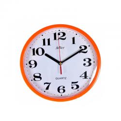 ADLER 30019 ORANGE Quartz Wall Clock