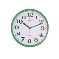 ADLER 30019 GREEN Quartz Wall Clock