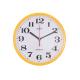 ADLER 30019 YELLOW Настенные кварцевые часы