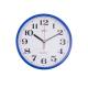 ADLER 30019 DARK BLUE Quartz Wall Clock