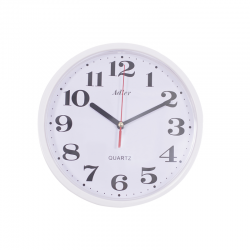 ADLER 30019 YELLOW Quartz Wall Clock