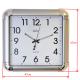 ADLER 30133 SILVER Настенные кварцевые часы