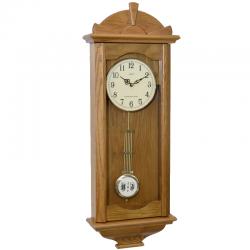 ADLER 20021O ĄŽUOLAS Sieninis kvarcinis laikrodis