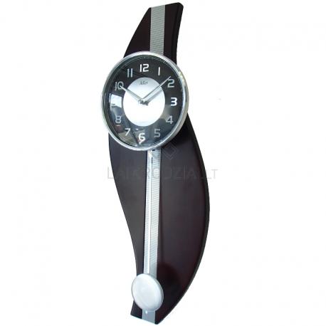 ADLER 20225W Riešutas kvarcinis laikrodis