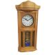 ADLER 20002O OAK Quartz Wall Clock