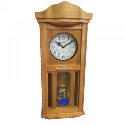 ADLER 20002O ДУБ Haстенные кварцевые  часы
