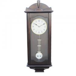 ADLER 20021W WALNUT Quartz Wall Clock