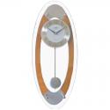 ADLER 20231O Ąžuolas Sieninis kvarcinis laikrodis