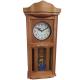 ADLER 20002W WALNUT. Quartz Wall Clock