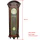 ADLER 11022W ОРЕХ. Настенные механические часы