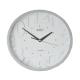 ADLER 30131 SILVER Quartz Wall Clock