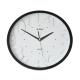 ADLER 30131 BLACK Quartz Wall Clock