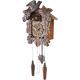 ADLER 24014W Cuckoo-clock. Color - walnut