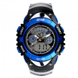 SKMEI AD0998 Kid Size Dark Blue