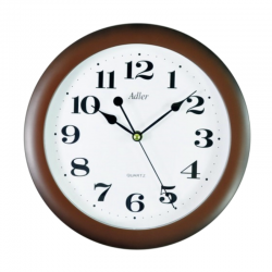 ADLER 30021 BROWN Haстенные кварцевые  часы