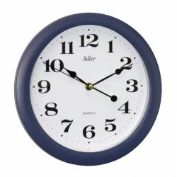 ADLER 30021 BLUE Haстенные кварцевые  часы