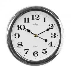 ADLER 30021 SILVER MAT Haстенные кварцевые  часы
