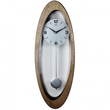 ADLER 20234O ĄŽUOLAS Sieninis kvarcinis laikrodis