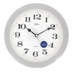 ADLER 30021 GREY Haстенные кварцевые  часы