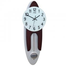 CNTOP 17062W Riešutas. Sieninis kvarcinis laikrodis