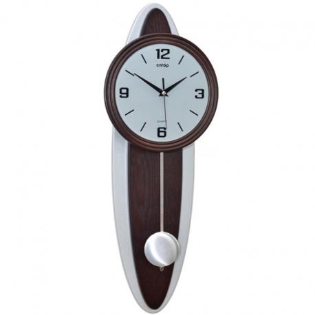CNTOP 17045W Riešutas. Sieninis kvarcinis laikrodis