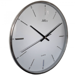 ADLER 30157SIL  Haстенные кварцевые  часы